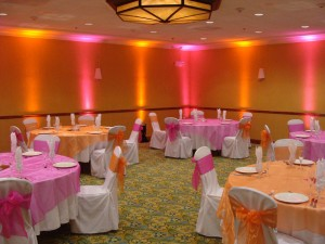 AA Uplighting Pink Orange