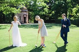 Croquet Set at a wedding